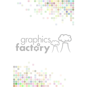 shades of pastel pixel vector brochure letterhead document background template clipart. Commercial use image # 402152