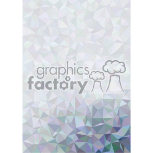 shades of blue geometric pattern vector brochure letterhead corner background template