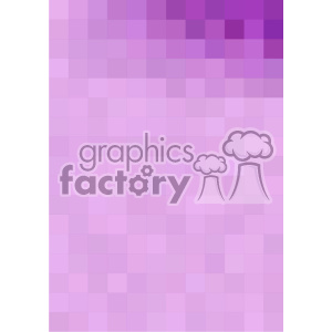 purple gradient pixel pattern vector brochure letterhead top right background template clipart. Royalty-free image # 402212