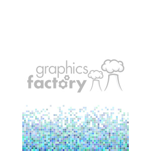 shades of blue pixel vector brochure letterhead document bottom background template