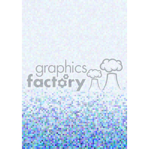 shades of gradient blue pixel vector brochure letterhead document background bottom template clipart. Royalty-free image # 402257