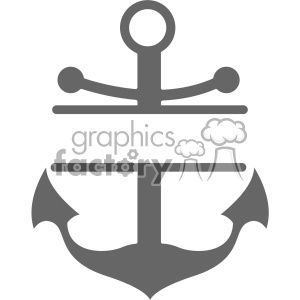 anchor with label svg cut file clipart. Royalty-free image # 403103