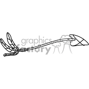 bent arrow vector design 10 clipart. Royalty-free image # 403254