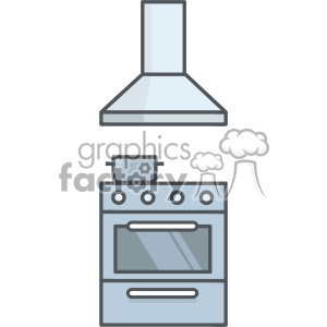 Stove vector clip art images clipart. Royalty-free image # 403865