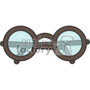 Glasses icon vector clip art images clipart. Commercial use image # 403920