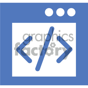gui code vector icon clipart. Commercial use image # 404038