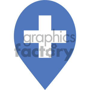 spot marked vector icon clipart. Commercial use image # 404061