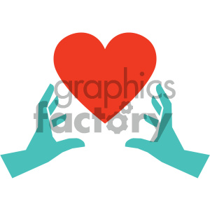 hold on to love vector icon clipart. Commercial use image # 404071