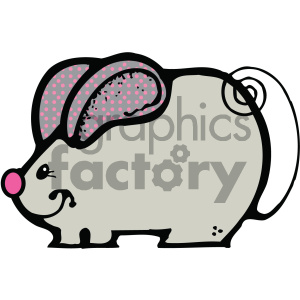 clipart - cartoon clipart mouse 009 c.