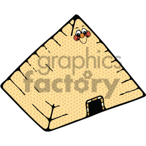 egyptian pyramid 002 c clipart. Royalty-free image # 405035