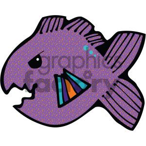 cartoon vector fish 003 c