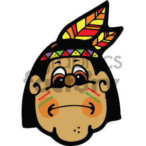 indian vector art clipart. Royalty-free image # 405368