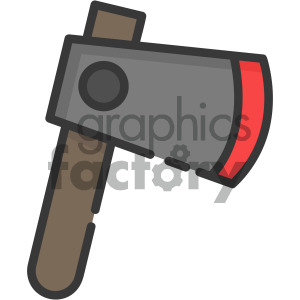 axe vector royalty free icon art clipart. Royalty-free image # 405385