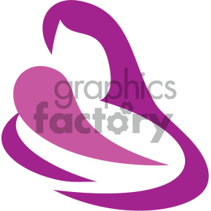 motherhood vector icon clipart. Royalty-free image # 405516