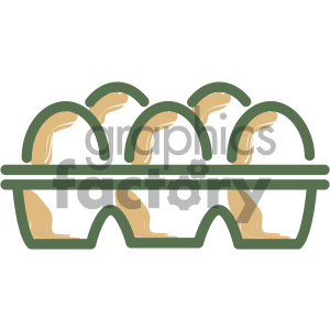 eggs food vector flat icon design