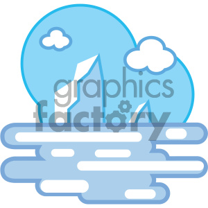 arctic ice nature icon clipart. Commercial use icon # 405753
