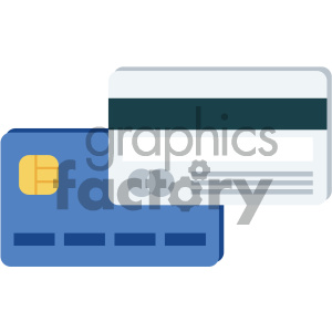 credit cards vector flat icon clipart. Commercial use image # 405844