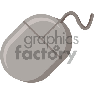 computer mouse vector flat icon clipart. Royalty-free image # 405861
