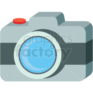 camera icon clipart. Royalty-free image # 406060
