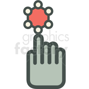 nanosensor technology icon clipart. Commercial use image # 406175