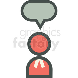 ask a lawyer icon clipart. Royalty-free image # 406290