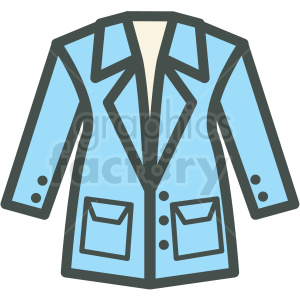 coat vector icon clipart. Royalty-free image # 406421