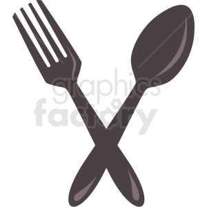fork and spoon icon clipart with no background clipart. Commercial use image # 406661