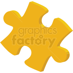 puzzle piece vector flat icon clipart with no background clipart. Royalty-free icon # 406760