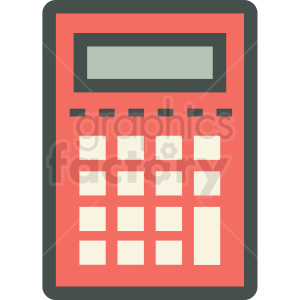 calculator vector icon clipart. Royalty-free image # 406880