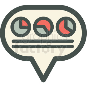 social data sets vector icon clipart. Royalty-free image # 406908