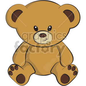 Teddybear clipart clipart. Commercial use image # 407048