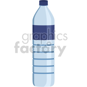 water bottle flat icons clipart. Royalty-free image # 407154