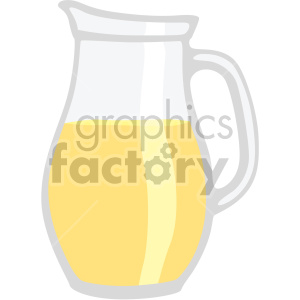 lemonade pitcher flat icons clipart. Royalty-free image # 407166