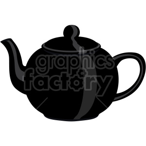 black kettle flat icons clipart. Royalty-free icon # 407186
