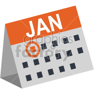 new years jan 1st no background calendar clipart. Royalty-free image # 407408