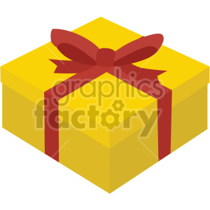 gift box no background clipart. Commercial use image # 407409