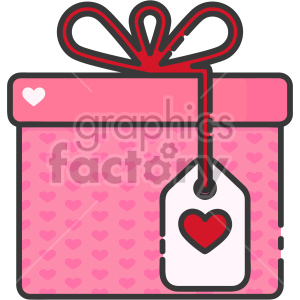 valentines present clipart. Royalty-free icon # 407506