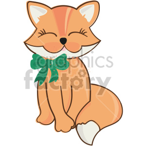 st patricks day cat clipart. Royalty-free image # 407651