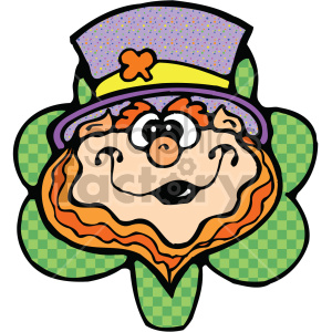 leprechaun cartoon 005 c clipart. Royalty-free image # 407714