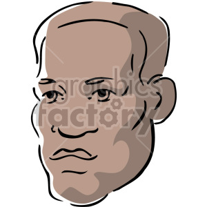 African American male clipart. Commercial use image # 157349