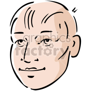 cartoon man clipart. Royalty-free image # 157363