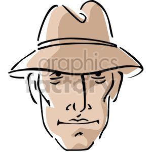 private investigator clipart. Royalty-free image # 157415