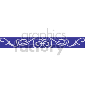 swirl header clipart. Royalty-free image # 167024