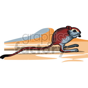 field mouse clipart. Royalty-free image # 129360