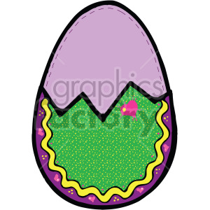 easter egg 012 c clipart. Royalty-free image # 407878