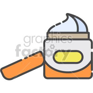 Hair Cream clipart. Royalty-free icon # 407961