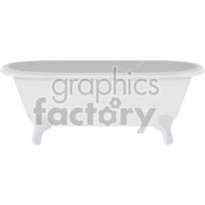 bathtub no background clipart. Royalty-free image # 408021