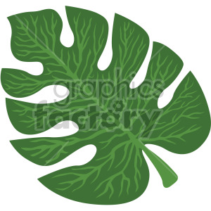 tropical palm leaf clipart. Royalty-free image # 408029