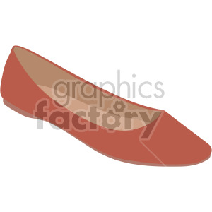 womans flat shoes clipart. Royalty-free image # 408127