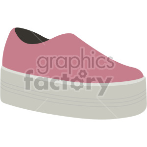 platform shoes clipart. Royalty-free image # 408136